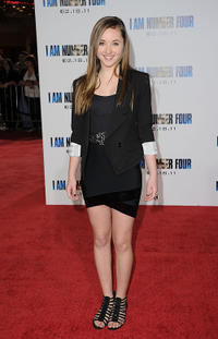 Rachel Fox at the California premiere of