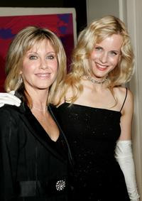 Lori Singer and Olivia Newton John at the One World One Child benefit gala.