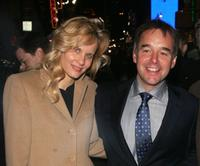 Lori Singer and Chris Columbus at the Tisch School of the Arts Annual gala benefit.