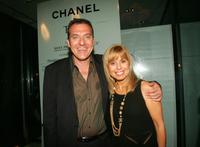 Tom Sizemore and Anny Kazanjian at the after party of