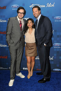 Nelson Franklin, Liza Lapira and David Denman at the Fox's