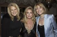 Susan Blakely, Kathy Hilton and Julie Araskog-Vosti at the champagne reception honoring fashion writer Bettina Zilkha.
