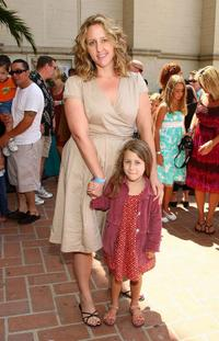 Brooke Smith and her daughter at the DVD launch of