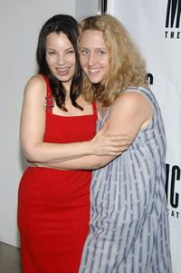Brooke Smith and Fran Drescher at the opening night celebration of