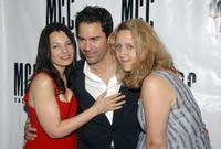Fran Drescher, Eric McCormack and Brooke Smith at the opening night celebration of