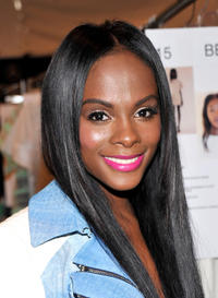 Tika Sumpter at the Rebecca Minkoff during the Spring 2013 Mercedes-Benz Fashion Week in New York.