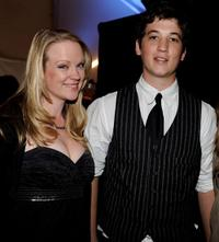 Ashley Palmer and Miles Teller at the Gen Art's 12th Annual Fresh Faces In Fashion.
