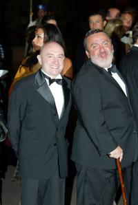 Michel Blanc and Dominique Farruggia at the Marrakesh International Film Festival 2005.