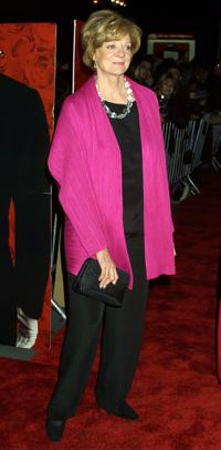 Maggie Smith at the premiere of