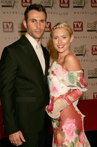 Benjamin and Nicky Whelan at the 2007 TV Week Logie Awards.