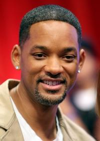 Will Smith at a taping of BET's 106 and Park.