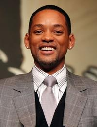 Will Smith at the Japan press conference of
