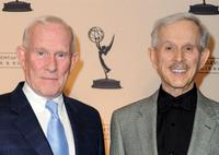Tom Smothers and Dick Smothers at the Academy of Television Arts and Sciences 19th Annual Hall of Fame Induction.
