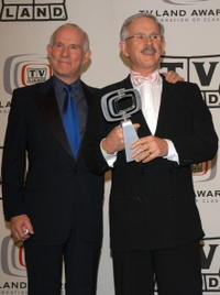 Tom Smothers and Dick Smothers at the 2005 TV Land Awards.