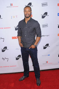 Isaiah Mustafa at the 2011 One Show Interactive Awards in New York.