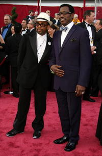 Director Spike Lee and Wesley Snipes at the 80th Annual Academy Awards.