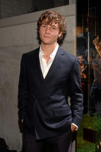 Augustus Prew at the Salvatore Ferragamo's