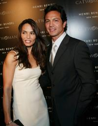 Talisa Soto and her husband Benjamin Bratt at the