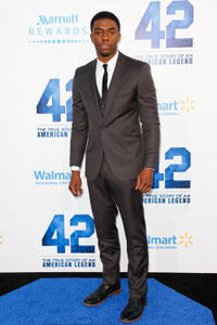 Chadwick Boseman at the California premiere of
