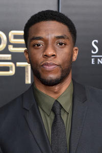 Chadwick Boseman at the New York premiere of