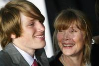 Sissy Spacek and Harris Allen at the premiere of