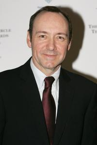 Kevin Spacey at the Critics' Circle Theatre Awards.