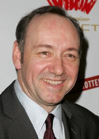 Kevin Spacey at a benefit evening for London's famed Old Vic Theatre.