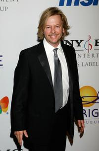 David Spade at the Legendary Clive Davis Pre-Grammy Party.