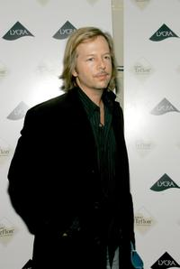 David Spade at the Zac Posen Spring 2007 after party during Olympus Fashion Week.