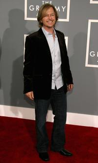 David Spade at the 49th Annual Grammy Awards.