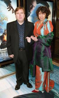 Timothy Spall and Shane Spall at the European premiere of