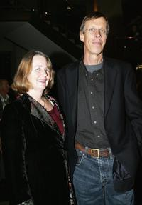 Bruce Spence and his wife Jeanine at the opening night world premiere of