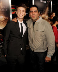 Thomas Mann and director Nima Nourizadeh at the California premiere of