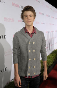 Thomas Mann at the 8th Annual Teen Vogue Young Hollywood party in California.