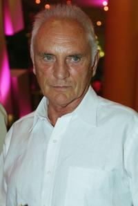 Terence Stamp at the world premiere of