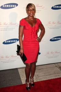 Mary J. Blige at the Samsung Electronics launch of the Samsung Imagination Icon Series.