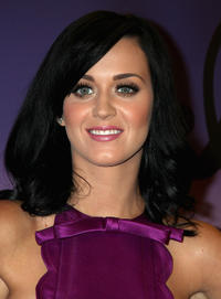 Katy Perry at the launch of her new fragrance