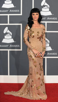 Katy Perry at the 52nd Grammy Awards.