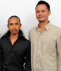 Yayan Ruhian and Ray Sahetapy at the photocall of