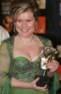 Imelda Staunton at the British Academy Film Awards.