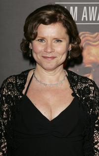 Imelda Staunton at the the Orange British Academy Film Awards (BAFTAs).