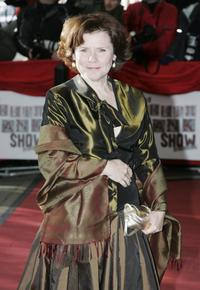 Imelda Staunton at the South Bank Show Awards.