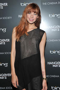 Analeigh Tipton at the Cinema Society & Bing screening of