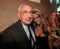 Ben Stein and Mandy Lynn at the crowning finale and celebration for VH1's America's Most Smartest Model.