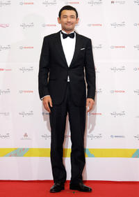 Hwang Jung-min at the 49th Daejong Film Awards.