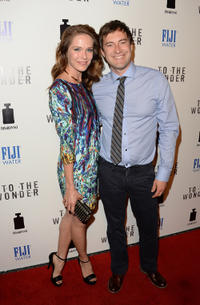 Katie Aselton and Mark Duplass at the California premiere of