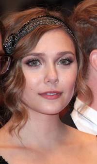 Elizabeth Olsen at the premiere of