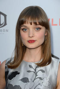 Bella Heathcote at the California premiere of