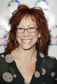 Mindy Sterling at the weSPARKLE Night: Take II variety show.