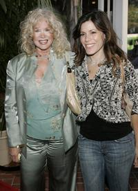 Connie Stevens and her daughter Tricia Leigh Fisher at the tribute Red Buttons: A Celebration of Life and Laughter.